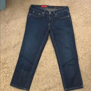 AG cropped jeans SZ 24